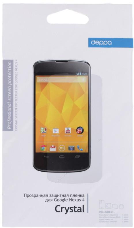 Защитная пленка для LG Nexus 4 Deppa прозрачная SotMarket.ru 250.000