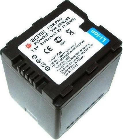 Аккумулятор для Panasonic HDC-SD600 AcmePower VBN-260 SotMarket.ru 1550.000