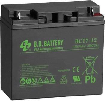 Аккумулятор В.В. Battery BC 17-12 SotMarket.ru 1860.000