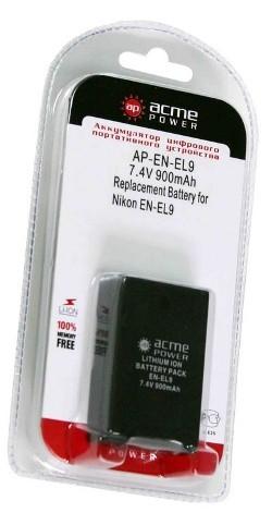 Аккумулятор для Nikon D40 AcmePower EN-EL9 SotMarket.ru 710.000