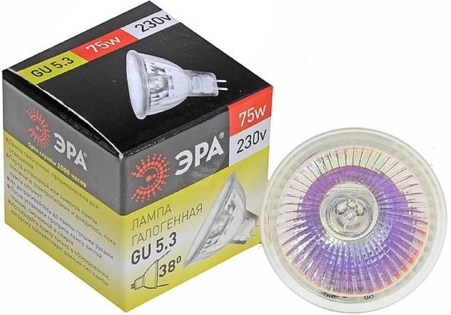 Галогеновая лампа ЭРА GU5.3-JCDR SotMarket.ru 50.000