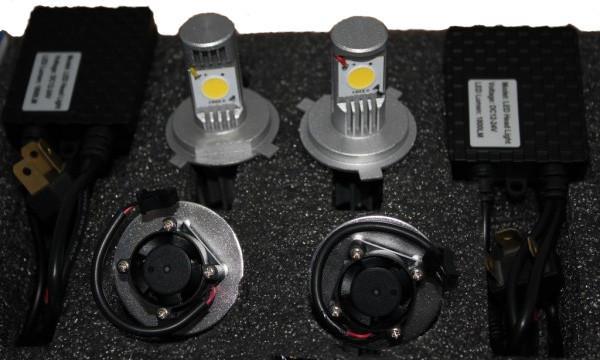Комплект светодиодных ламп Ledotex 2HL-H4W/DC12-24V 50W SotMarket.ru 4850.000