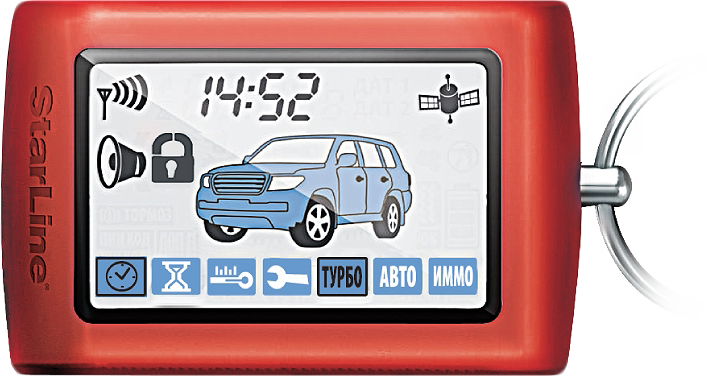 Брелок для сигнализации StarLine D94 SotMarket.ru 2100.000