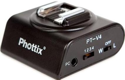 Радиосинхронизатор Phottix Aster PT-V4 с одним передатчиком SotMarket.ru 1610.000