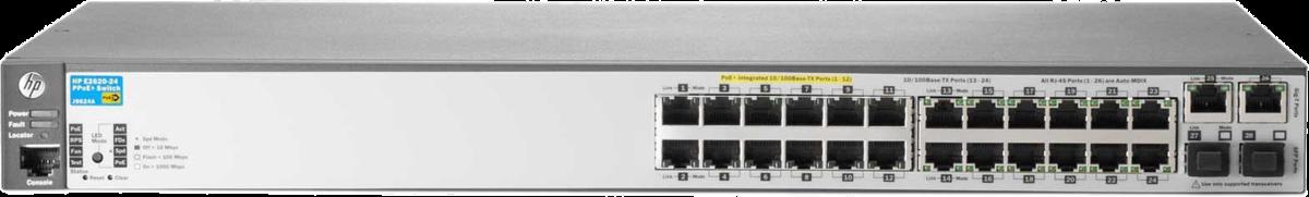 HP 2620-24-PPoE+ J9624A SotMarket.ru 34790.000