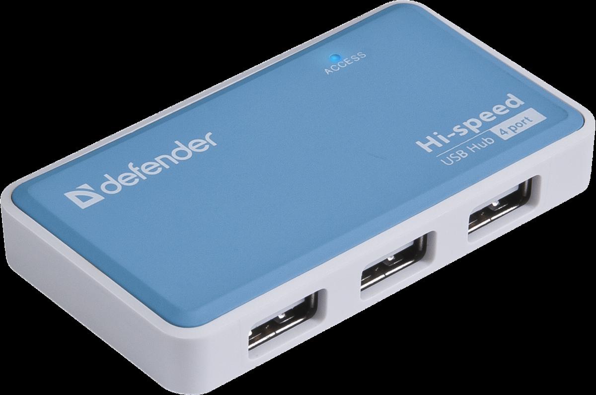 USB хаб Defender Quadro Power SotMarket.ru 740.000