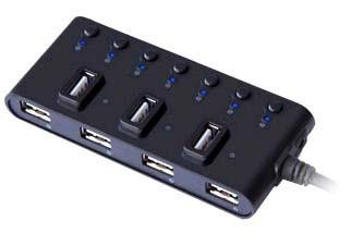 USB хаб Ginzzu GR-487UB SotMarket.ru 730.000
