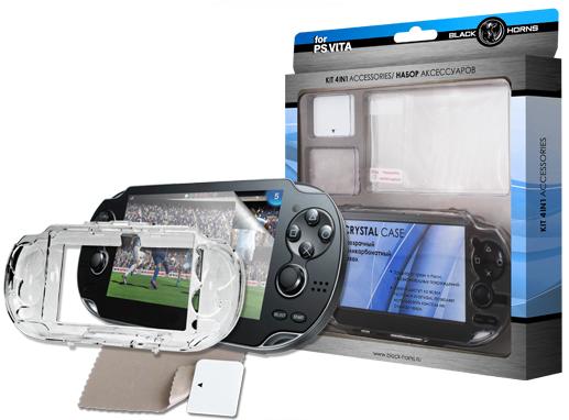 Набор аксессуаров для Sony PlayStation Vita Black Horns BH-PSV0804(R) (4 в 1) SotMarket.ru 440.000