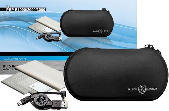 Набор аксессуаров для Sony PSP E1000 BH-PSE0804(R) (5 в 1) SotMarket.ru 470.000