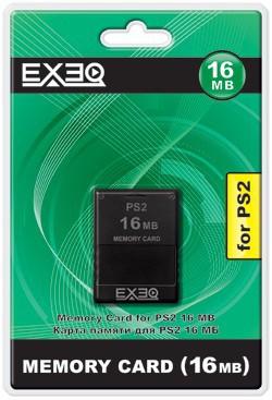 Карта памяти для Sony PlayStation 2 16MB Exeq SotMarket.ru 240.000