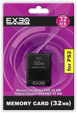 Карта памяти для Sony PlayStation 2 32MB Exeq SotMarket.ru 290.000