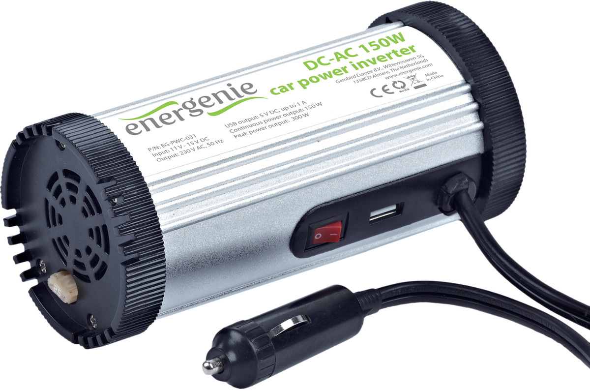 Инвертор питания Energenie EG-PWC-031 12/220V 150W SotMarket.ru 1500.000