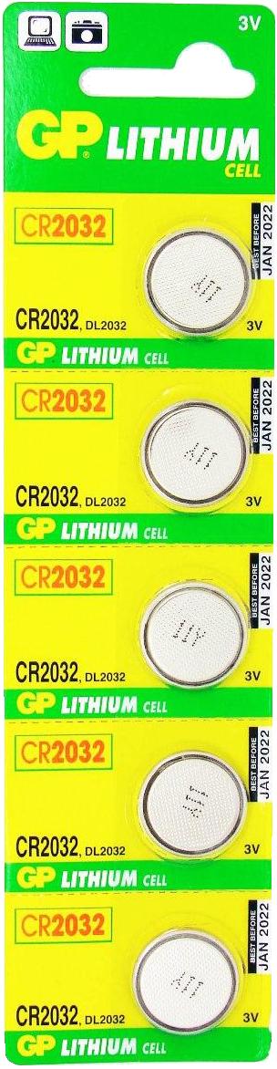 Батарейки GP CR2032-BC5 SotMarket.ru 320.000