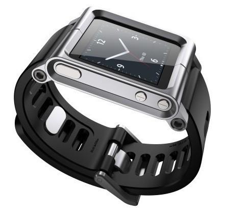 Браслет для Apple iPod nano 6G LunaTik Silver SotMarket.ru 1800.000