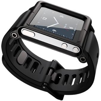 Чехол-браслет для Apple iPod nano 6G LunaTik BlackOut LTBLK-002 SotMarket.ru 810.000