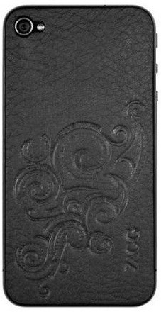 Наклейка на Apple iPhone 4S ZAGG LEATHERSkin Floral SotMarket.ru 950.000