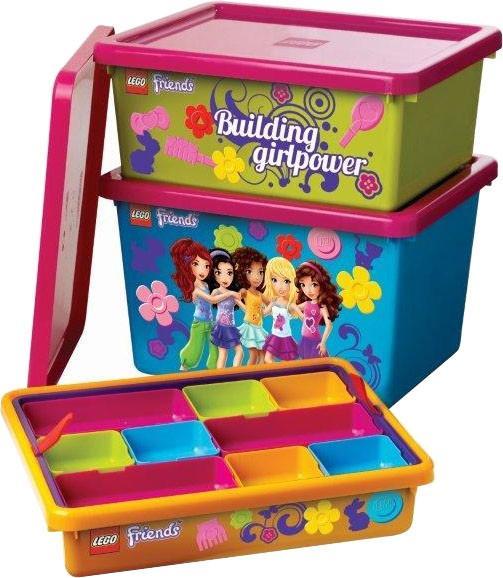 Ящик для игрушек LEGO Friends 4091-F SotMarket.ru 2580.000