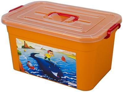 Ящик для игрушек Полимербыт Радуга 81101 SotMarket.ru 450.000