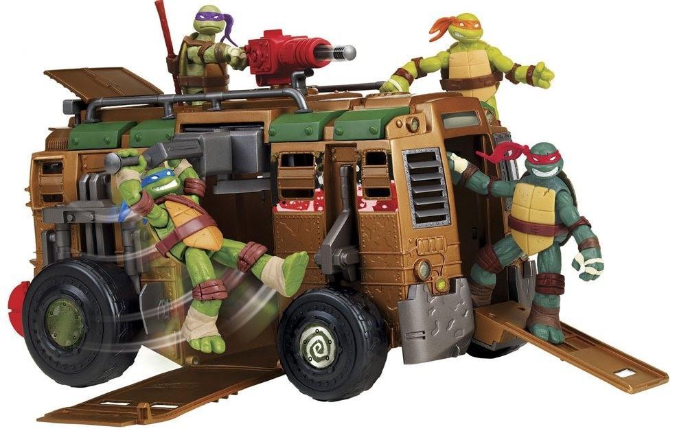 TMNT Черепашки Ниндзя Боевой фургон Playmates Toys 94010 SotMarket.ru 2599.000