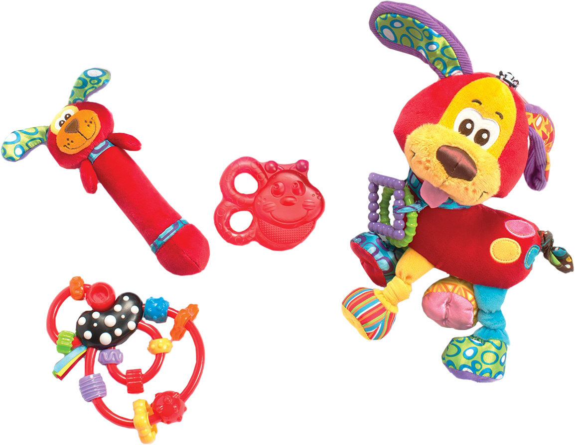 Puppy Fun Pack Playgro 182809 SotMarket.ru 1540.000