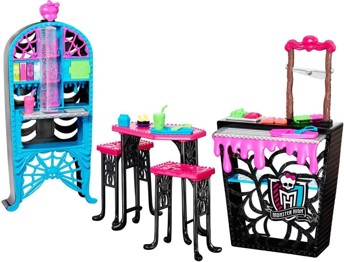 Mattel Monster High Кафетерий. Закоулки школы монстров BJR20 SotMarket.ru 2100.000