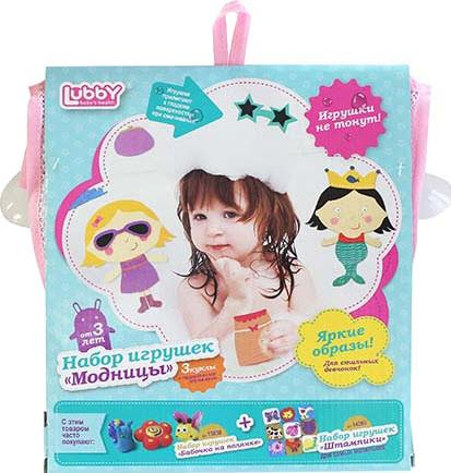Игрушка для ванной Модницы LUBBY 14086 SotMarket.ru 630.000