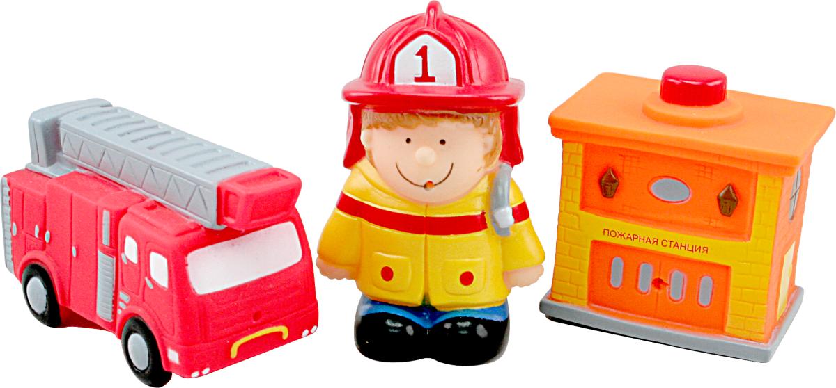 Игрушка для ванной Пожарные Курносики 25107 SotMarket.ru 480.000