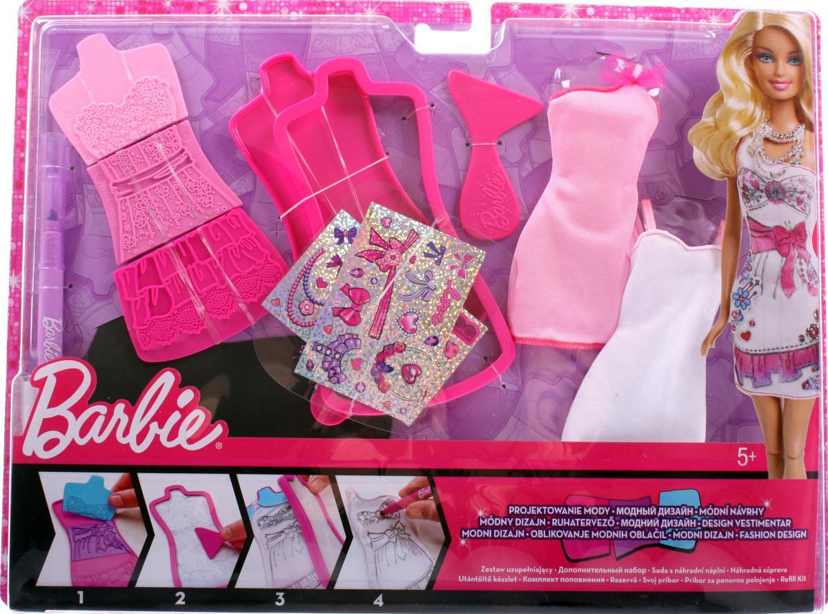 Набор одежды Mattel Barbie Модная дизайн-студия X7896 SotMarket.ru 1240.000