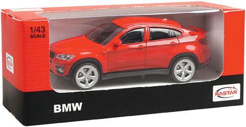 Автомобиль Rastar BMW X6 1:43 33700 SotMarket.ru 410.000