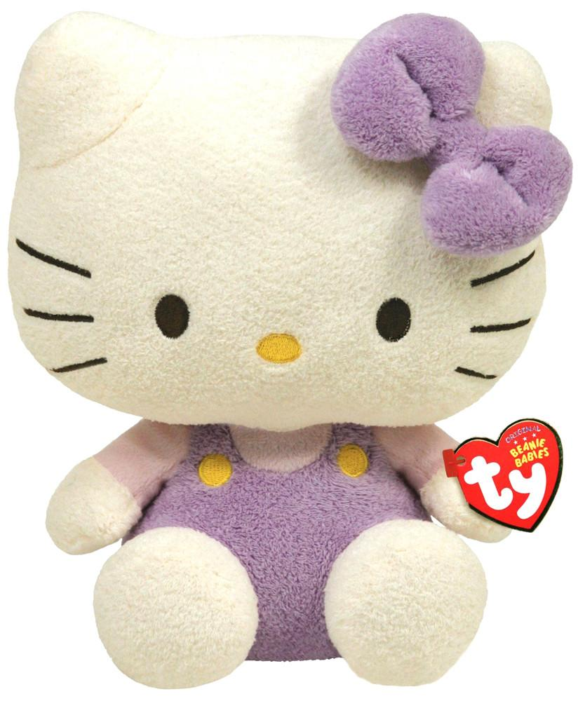 Hello Kitty в сиреневом комбинезоне 20 см Ty Beanie Babies 40907 SotMarket.ru 340.000
