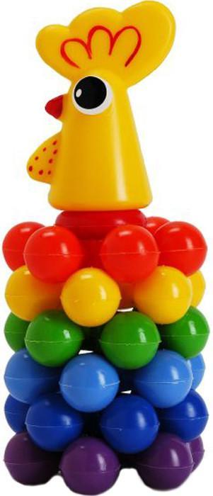 Пирамидка Русский Стиль Петушок с шариками 7006 SotMarket.ru 180.000