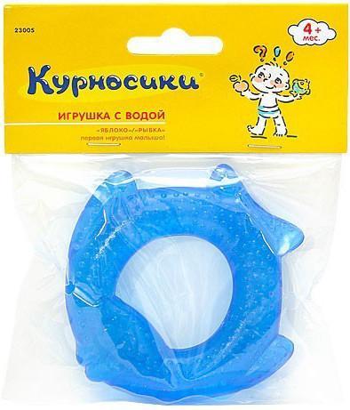 Погремушка-прорезыватель Курносики Яблоко/Рыбка 23005 SotMarket.ru 160.000