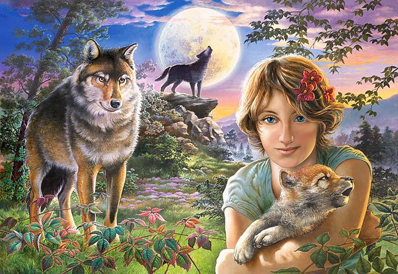 Castorland В свете луны C-102785 SotMarket.ru 410.000
