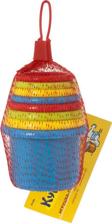 Пирамидка Веселая радуга Курносики 27136 SotMarket.ru 550.000
