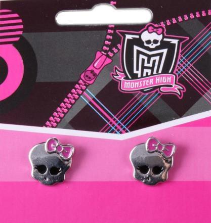 Monster High Серьги-гвоздики Череп 9040131 SotMarket.ru 150.000