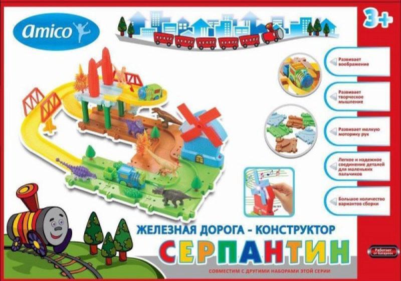 Железная дорога Amico Прогулка с динозаврами 24348/144419 SotMarket.ru 570.000