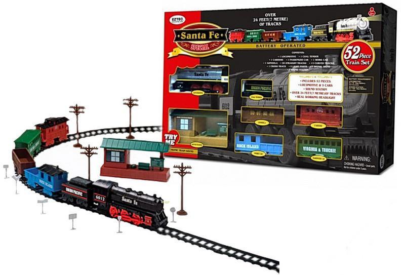 Железная дорога Eztec Santa Fe Special Train Set 63080 SotMarket.ru 1830.000