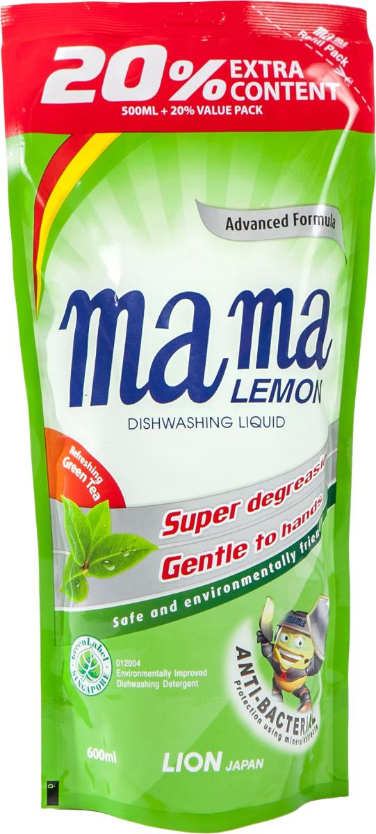 Гель для мытья посуды Mama Lemon c ароматом зеленого чая 46336 600мл SotMarket.ru 340.000
