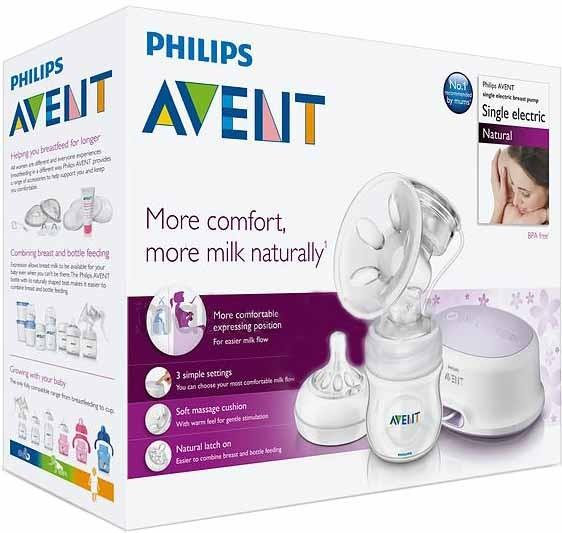 Молокоотсос Philips AVENT SCF332/01 SotMarket.ru 7550.000