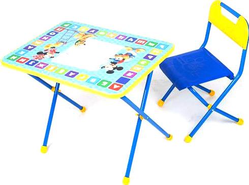 Письменный стол НИКА Disney 1 Микки Маус и друзья Д1 SotMarket.ru 1830.000