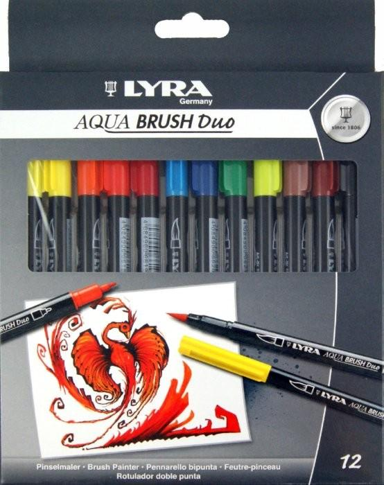 Фломастеры LYRA Aqua Brush Duo L6521120 SotMarket.ru 1330.000