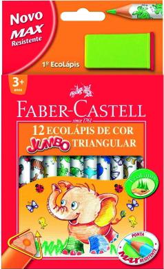 Карандаши Faber Castell Jumbo Triangular 116550