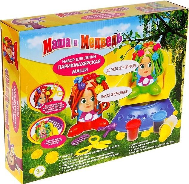 Набор Маша и Медведь Парикмахерская Маши 23354 SotMarket.ru 500.000