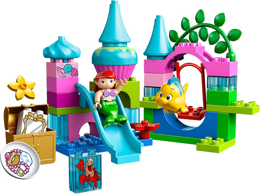 Конструктор LEGO Duplo Подводный замок Ариэль 10515