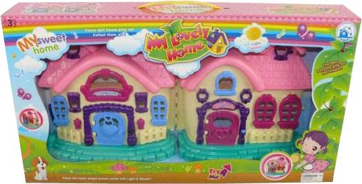 Домик Shantou Gepai Дом для куклы, свет, звук 623245 SotMarket.ru 1470.000