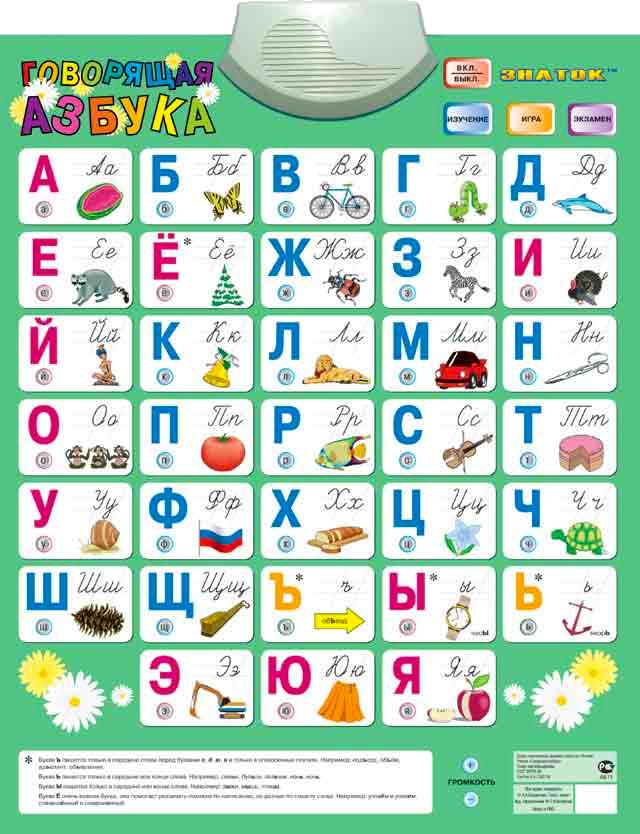 Знаток Говорящая азбука PL-08-NEWru SotMarket.ru 1270.000