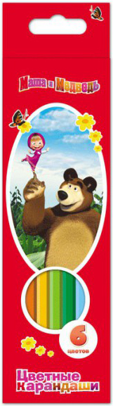 Карандаши Маша и Медведь 581015 SotMarket.ru 150.000