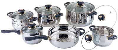 Набор посуды Bekker Jumbo BK-219 SotMarket.ru 2670.000