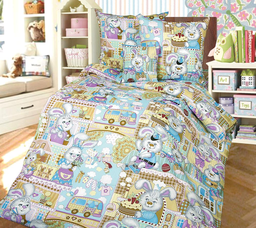 Детский комплект Бамбино Зайкин город А110093721 SotMarket.ru 1360.000