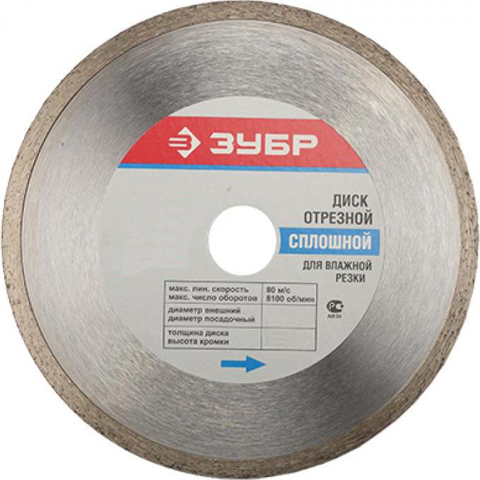 Отрезной диск ЗУБР 36655-250_z01 SotMarket.ru 1370.000